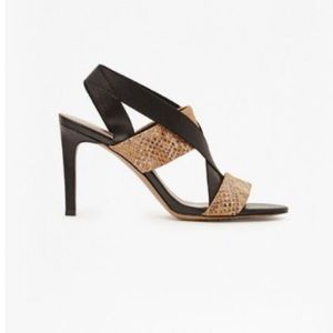 French Connection Limor II Leather Sandals